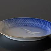 Seagull Service with gold, serving dish, medium, Bing & Grondahl - Royal Co...