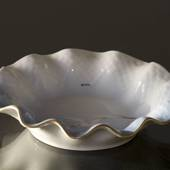 Seagull Service with gold, pickle dish, round ø 15 cm