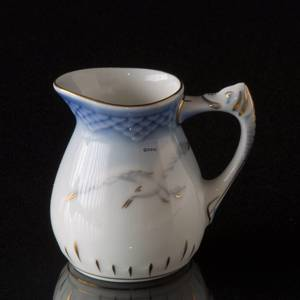Seagull Service with gold, Small Cream Jug, Bing & Grondahl Royal Copenhagen | No. 3-392 | DPH Trading