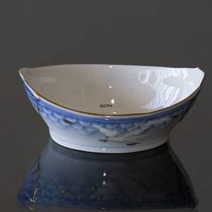 Seagull Service with gold, salt dish | No. 3-547 | DPH Trading