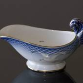 Seagull Service with gold, sauce boat, small, Bing & Grondahl - Royal Copen...