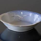 Seagull Service with gold, bowl, Bing & Grøndahl 22cm
