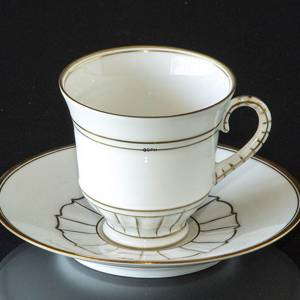 Offenbach cup and saucer 1dl