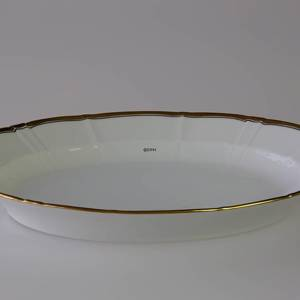 Offenbach oval tray 25cm, Bing & Grondahl | No. 3033318 | DPH Trading