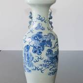 Chinese antique Seladon vase