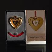 Heart - Georg Jensen, Annual Holiday Ornament 2010