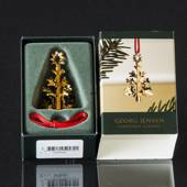 Christmas Tree - Georg Jensen, Annual Holiday Ornament 1999