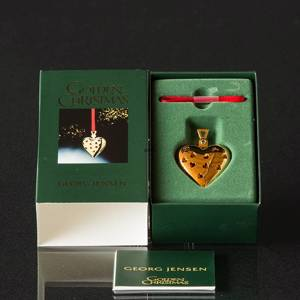 Heart Georg Jensen, Annual Holiday Ornament 2003 | Year 2003 | No. 3411203 | DPH Trading