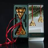 Snowman and Christmas tree with gifts - Georg Jensen, Annual Holiday Orname...