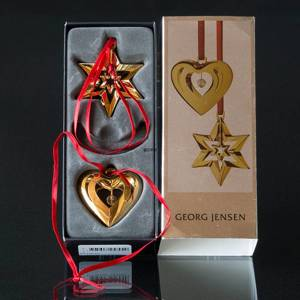 Heart and Star - Georg Jensen, Annual Holiday Ornaments 2010
