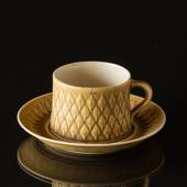 Relief Coffee Cup with Saucer