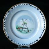Denmark Dinner set Plate (Dybbøl Mill)