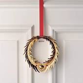 Georg Jensen Christmas Wreath, small, gilded