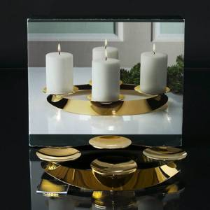 Advent Crown for square candle  - Georg Jensen