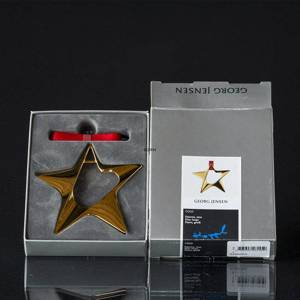 Georg Jensen Ornaments Star, large | No. 3588205 | DPH Trading