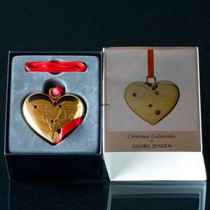 Christmas heart Georg Jensen Ornament 2012 | Year 2012 | No. 3589512 | DPH Trading
