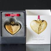 Heart - Georg Jensen, Annual Holiday Ornament 2015