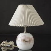 Holmegaard Sakura lamp, round, small (without lampshade) - Discontinued