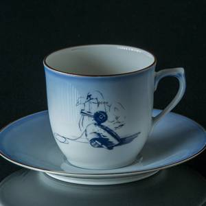 Lucia Service, Coffee Cup with the Ugly Duckling, Bing & Grondahl | Year 1977 | No. 3740-305-1 | DPH Trading