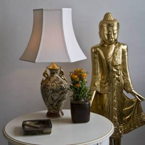 Chinese lamp with butterfly