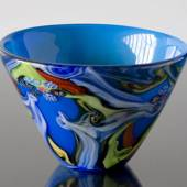 bowl with lime green bottom 24x27cm