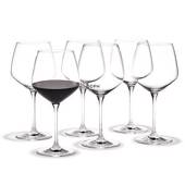 Holmegaard Perfection bourgogne glass, capacity 59 cl.. 6 pcs.