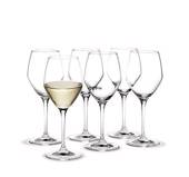 Holmegaard Perfection white wine glass, capacity 32 cl.. 6 pcs.