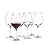 Holmegaard Cabernet red wine glass, capacity 69 cl., 6 pcs.