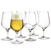 Holmegaard Cabernet beer glass, capacity 64 cl., 6 pcs.