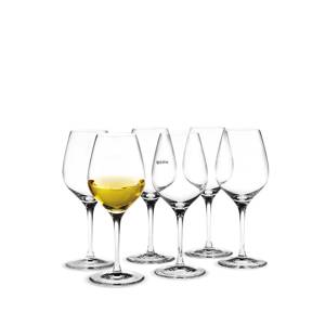 Holmegaard Cabernet dessert wine glass, capacity 28 cl., 6 pcs. | No. 4303394 | DPH Trading
