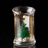 Holmegaard Christmas Dram Glasses 1991, set of 2