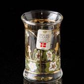 Holmegaard Christmas Dram Glasses 1993, set of 2