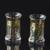 Holmegaard Christmas Dram Glasses 1996, set of 2