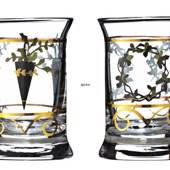 Dram Glasses 2006, set of 2. Holmegaard Christmas