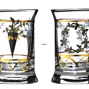 Dram Glasses 2006, set of 2. Holmegaard Christmas | Year 2006 | No. 4324047 | DPH Trading