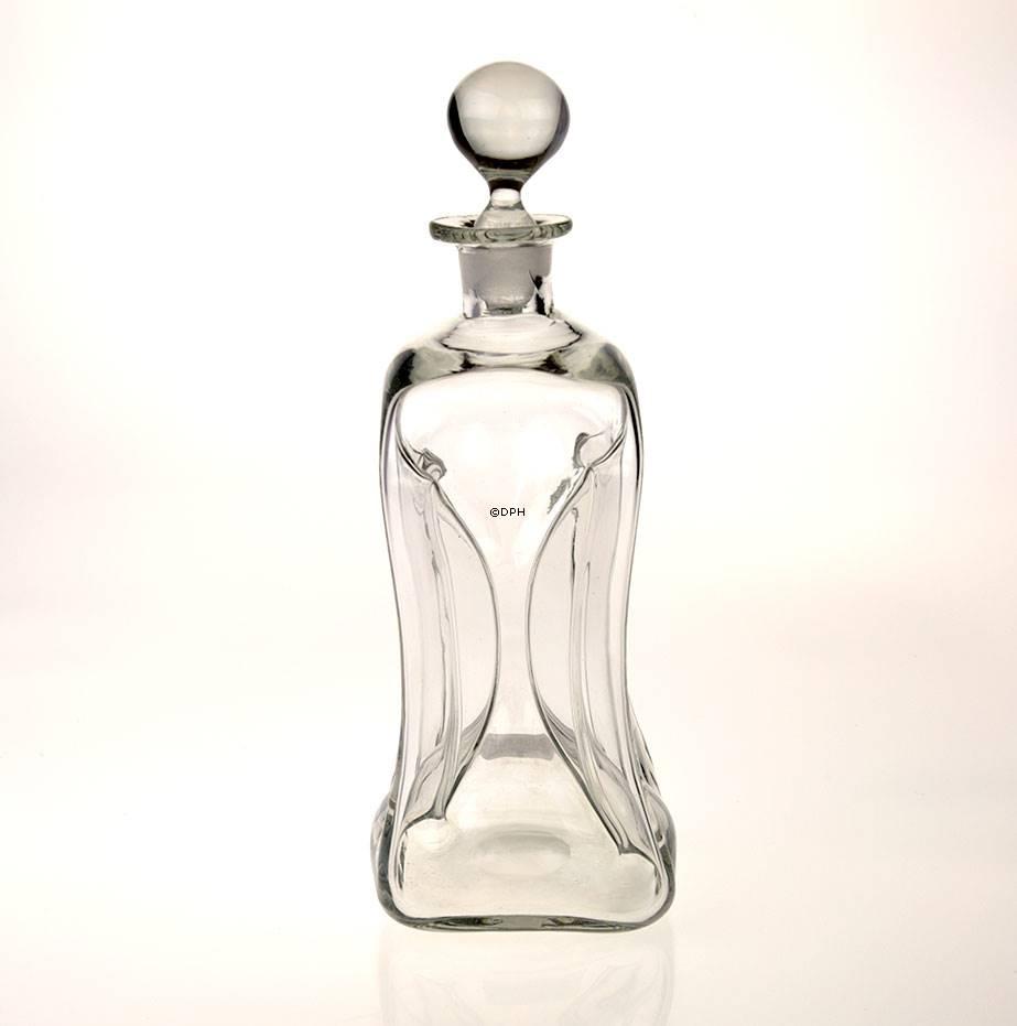 holmegaard glug bottle w clear stopper no 4334004 dph. Black Bedroom Furniture Sets. Home Design Ideas