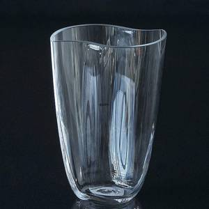 Holmegaard Duet vase clear, large | No. 4340821 | DPH Trading
