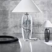 Holmegaard Grace Table Lamp, clear - Discontinued