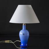 Holmegaard Torino Table Lamp in blue, medium - Discontinued
