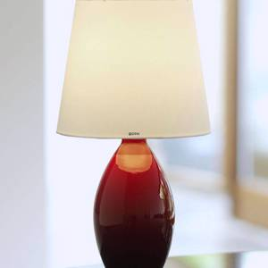 Holmegaard Cocoon (Base) Table lamp, red, small 
