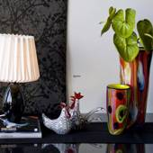 Holmegaard Cocoon (Base) Table lamp, black, small 