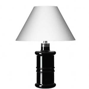 Holmegaard Apoteker Table Lamp, black Small - Discontinued
