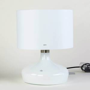 Holmegaard Mood Table Lamp, opal white - Discontinued