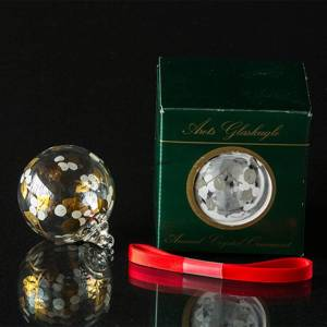 Annual Crystal ball 1995, Holmegaard Christmas | Year 1995 | No. 4800162 | DPH Trading