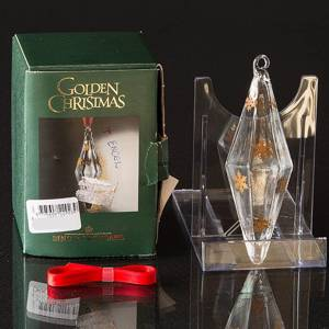 Ice Crystal, Crystal Ornament Holmegaard 2000 | Year 2003 | No. 4800208 | DPH Trading