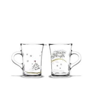 Christmas hot drink glasses 2017, 2 pcs., Holmegaard Christmas | Year 2017 | No. 4800367 | DPH Trading