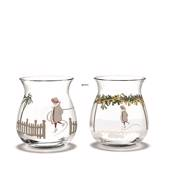 Tealight holders 2018, 2 pcs. Holmegaard Christmas