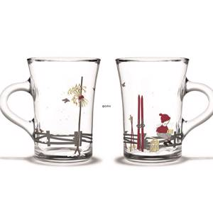Christmas hot drink glasses 2019, 2 pcs., Holmegaard Christmas | Year 2019 | No. 4800606 | DPH Trading
