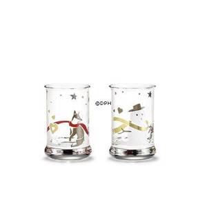 Dram Glasses 2012, set of 2. Holmegaard Christmas | Year 2012 | No. 4800770 | DPH Trading