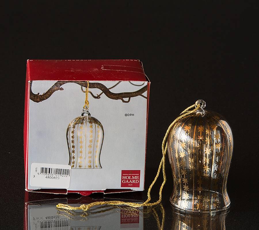 crystal ornament holmegaard 2003 bell year 2003 no. Black Bedroom Furniture Sets. Home Design Ideas